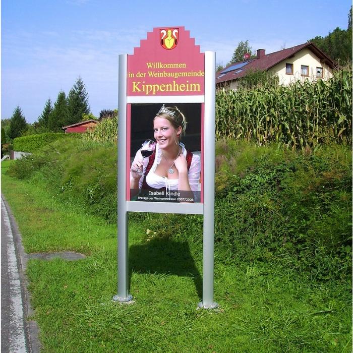 Schild Weinkönigin