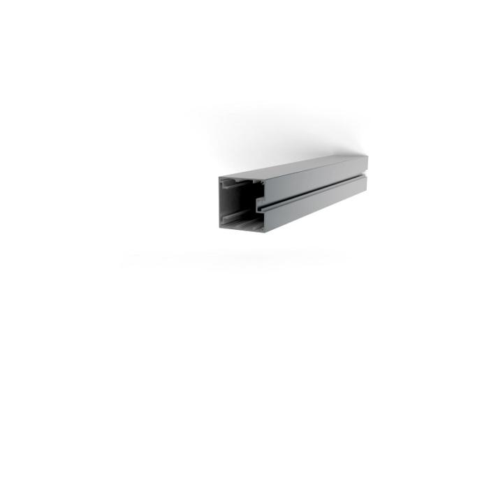 Schildsäule Aluminium 85 x 85 mm